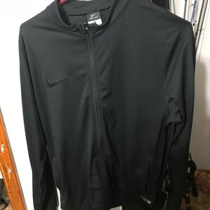 Nike dry fit zip up